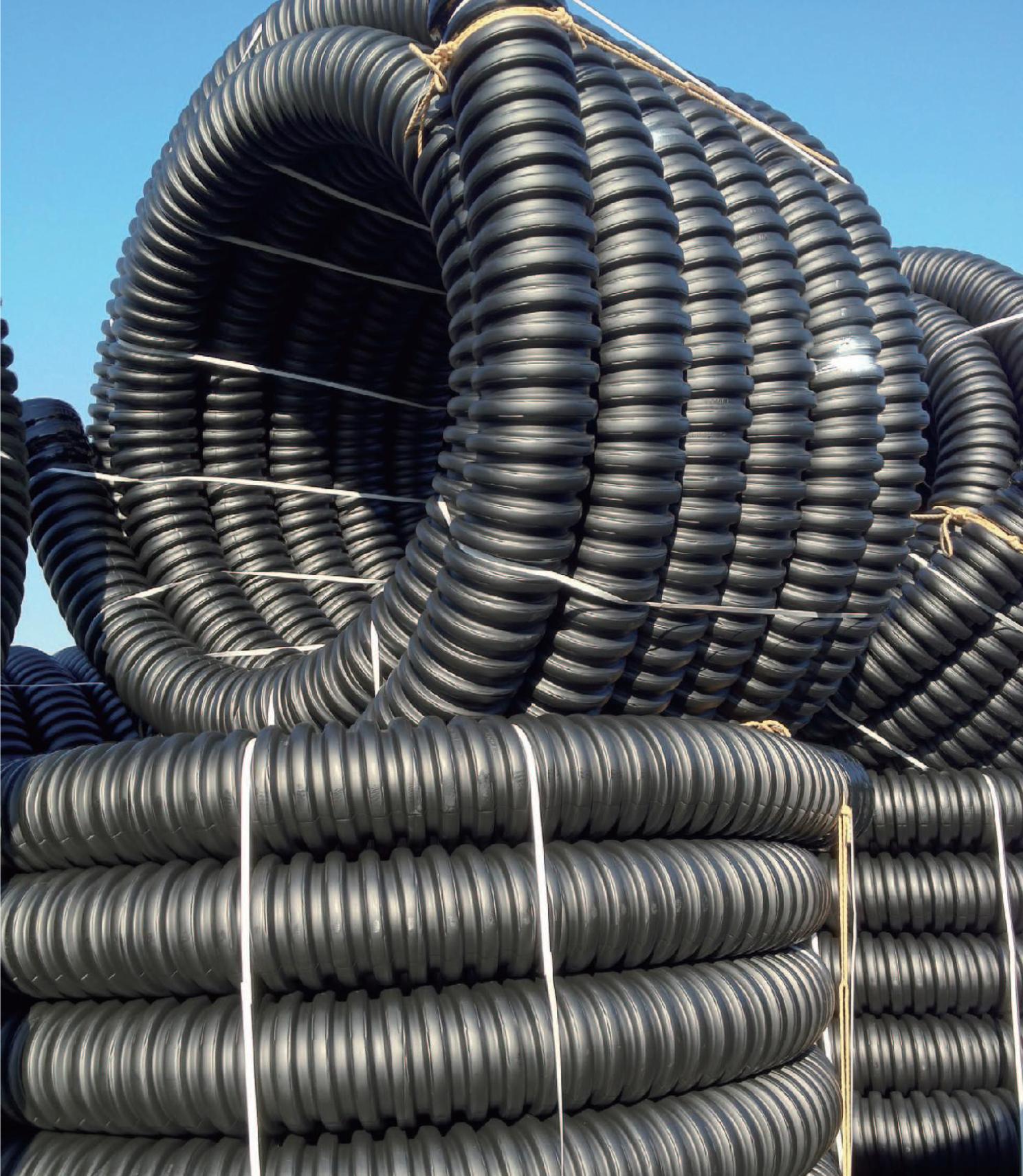 Tedeum Engineering Pte Ltd Eflex Corrugated Pipe